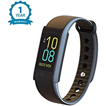 Noise ColorFit - Colored Display Fitness Band and Activity Tracker with Pedometer, Heart Rate Sensor, Blood Pressure Monitor, SPO2, Camera and Music Control