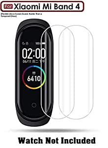 ACUTAS® Screen Scratch Guard Protector Film for Xiaomi Mi Band 4 (Pack of 2)