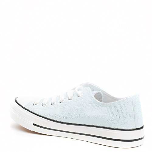 Ideal Shoes ,  Sneaker donna Azzurro