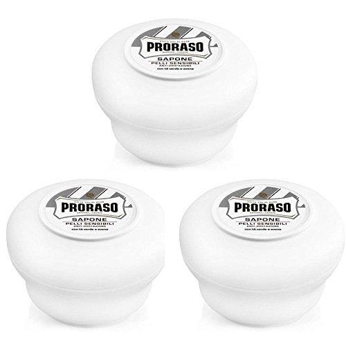 proraso-sapone-da-barba-ciotola-triplo-selezione-confezione-3-x-150ml-ciotola-jar-pot-3-x-bianco-150