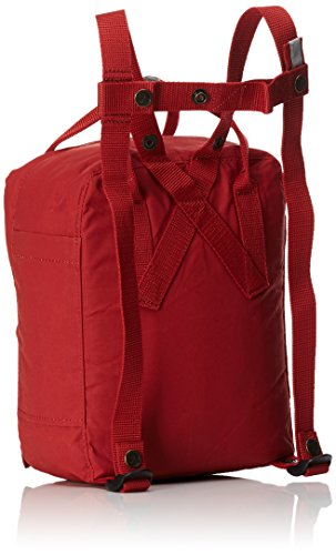 Fjällräven Unisex Rucksack Kånken Mini, deep rot, 29 x 20 x 13 cm, 7 Liter, F23561 Deep Red