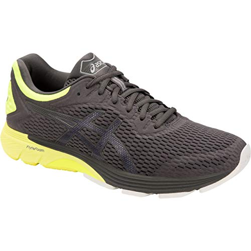 Asics Gt-4000, Zapatillas de Running para Hombre, Gris (Dark Grey/Safety Yellow 020), 44.5 EU