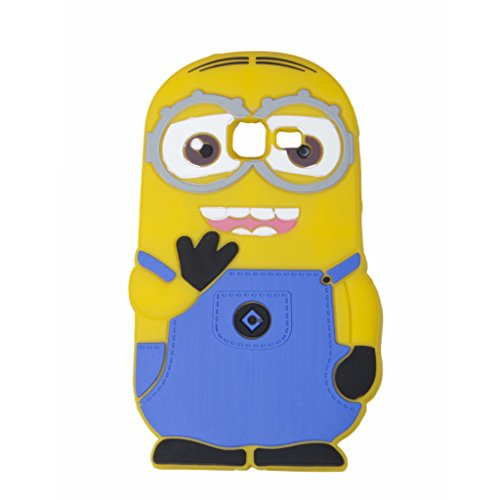 Double Eye Cute Despicable Me Minion Silicone Back Cover For Samsung Galaxy Star Pro S7262  available at amazon for Rs.499