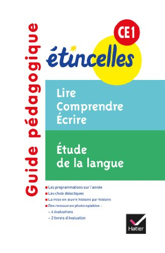 Etincelles CE1 éd. 2012 - Guide pédagogique par Denis Chauvet