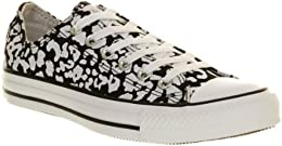 converse chuck taylor all star sneakers unisex adulto nero