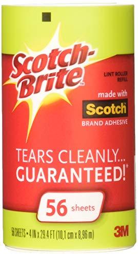 Scotch-Brite Fusselroller Nachfüllrolle 56EA (4Stück)