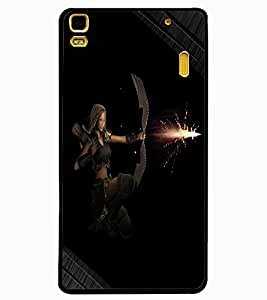 ColourCraft The Archer Design Back Case Cover for LENOVO A7000 PLUS