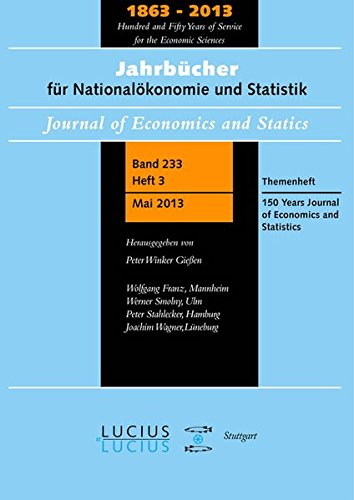 150-years-journal-of-economics-and-statistics-themenheft-3-bd-233-2013-jahrbucher-fur-nationalokonom