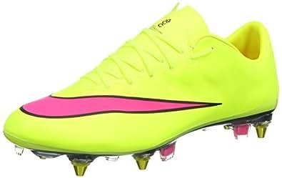 Nike Mercurial Vapor X Sg-pro, Chaussures de Football Compétition Homme, Jaune (volt/hyper Pink-black 760), 43