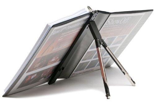 charles-leonard-inc-showoff-presentation-easel-1-per-box-silver-black-86100-by-charles-leonard