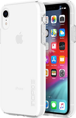 Incipio DualPro Schutzhülle für Apple iPhone XR - transparent [Extrem robust I Stoßabsorbierend I Hybrid I Qi kompatibel] - IPH-1748-CLR