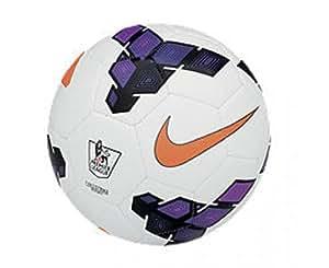 Nike Strike Football, Size 5 (White/Purple)