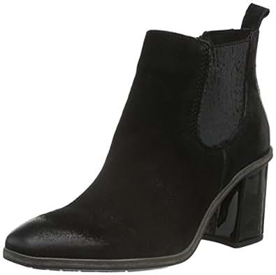 Mjus 270215-0101-6002, Bottes Classiques Femme - Noir - Noir (Nero), 37 EU