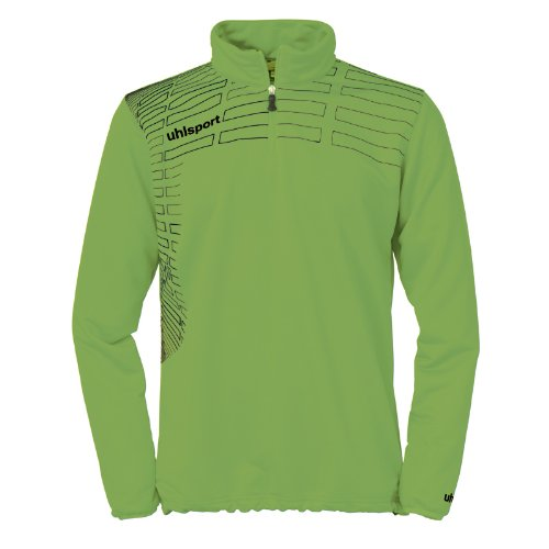 uhlsport Pullover Match 1/4 Zip Top Grün Flash/Schwarz, M (Nike-flash-hosen)