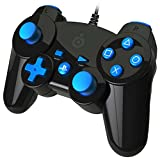 PS3 - Mini Controller Black / Blue (Kabelgebunden)