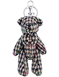 d29c0a7d7960 Heritage Traditions Tweed teddy Bear Bag Keyring Charm