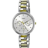 Timex E-Class Analog Silver Dial Women's Watch-TW000X207