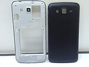 Lapmate Replacement Full Body Housing Panel Face Plate For Samsung Galaxy Grand 2 Black