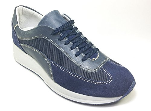 Top Star , Chaussures de ville à lacets pour homme Multicolore multicolore 40 Bleu