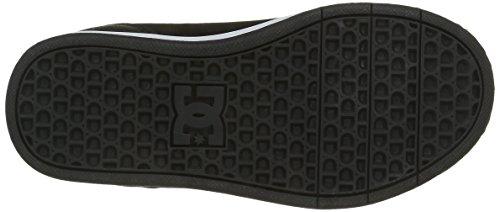 DC Shoes  Crisis Wnt, Sneakers Basses garçon Noir (Bcm)