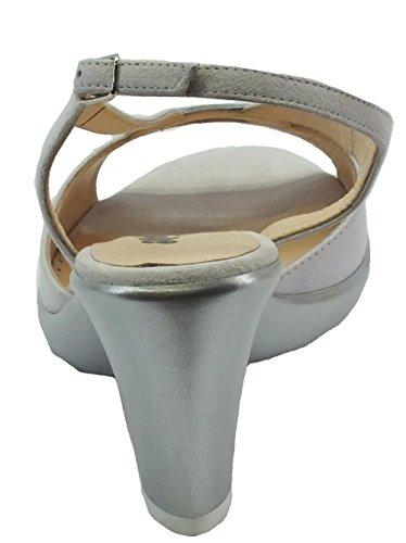 MELLUSO  R50101 Ombra, Sandales pour femme Ombre