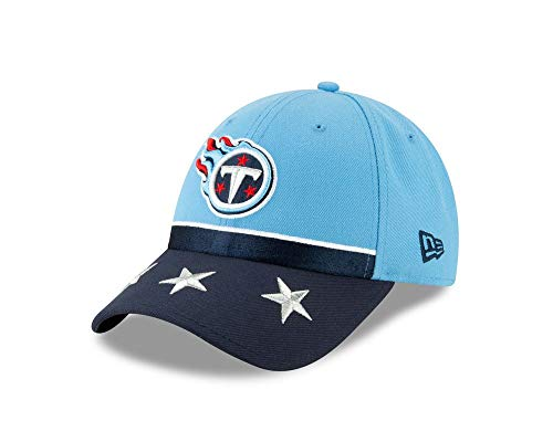 Imagen de new era nfl tennessee titans 2019 official on stage 9forty draft cap