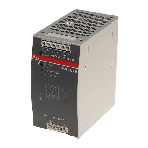 Abb-entrelec cp-t - Fuente alimentación 3x400-500vac 24vdc/5a