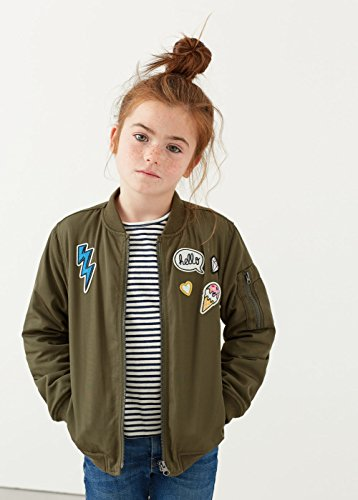 MANGO KIDS – Bomberjacke mit Jacken patches - 5