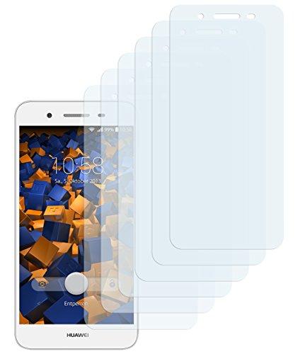 mumbi Schutzfolie kompatibel mit Huawei GR3 Folie klar, Bildschirmschutzfolie (6x)