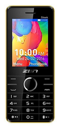 ZEN Z10 Sleek Dual SIM Feature Phone (Yellow) offer