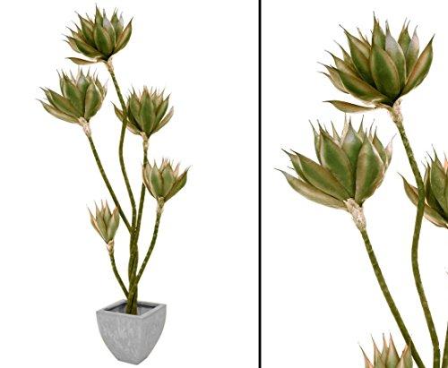 Agavenpalme künstlich, 108 Blätter, 160cm hoch – künstliche Palme Dekopalmen Kunstpflanzen