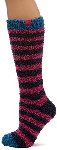 Joules Women's Fab Fluffy Slipper Socks, 100 Den