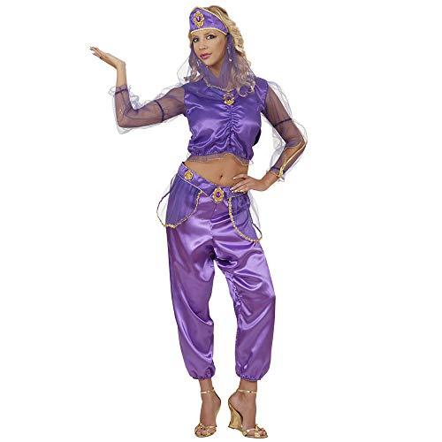 WIDMANN 58222 - Erwachsenenkostüm Haremstänzerin, Bluse, Hose, Gürtel, Kopfbedeckung mit Schleier, Größe ()