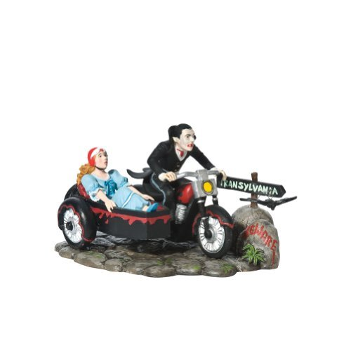 Department 56 Original Snow Village Halloween Lady and the Vamp Accessory Figurine by Department 56 (Vamp Lady Halloween)