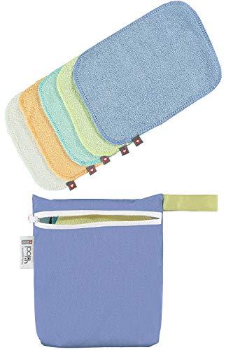 Close Toallitas Lavables Pack, pastel