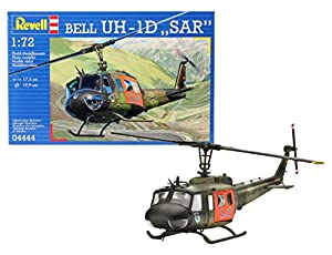 Revell- Bell UH-1D SAR helicóptero, Kit de Modelo, Escala 1:72 (4444) (04444)