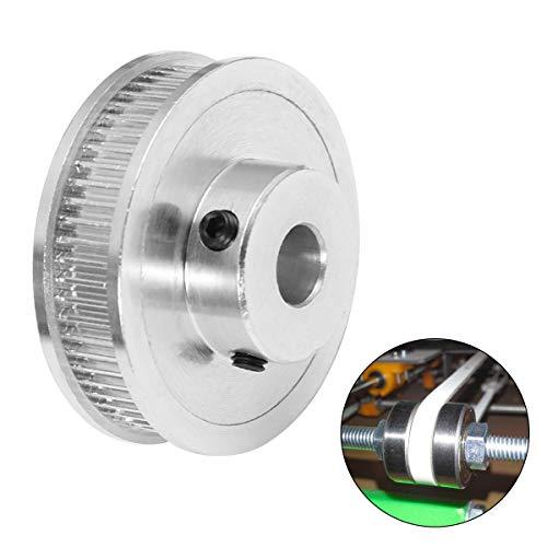 ukcoco Radzylinder Synchron-Rad GT260der Aluminium-Legierung die Zahnrad des Zahnriemens des Innendurchmesser 8m m für die 3d-Drucker
