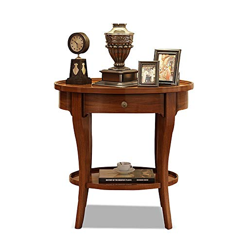 WyaengHai - Mesa de Centro de Estilo rústico Vintage para recámara ...