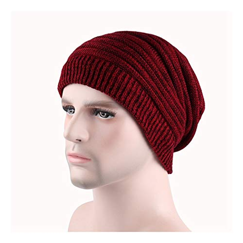 DAMENGXIANG Herbst Winter Stricken Outdoor Warm Cap Männer Freizeit Mode Hip Hop Plus Sam