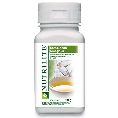 Nutrilite Fish OIL Capsule Salmon Fish Oil Provides Omega-3 Fatty Acids Net Content: 90 Capsules By Amway by amway