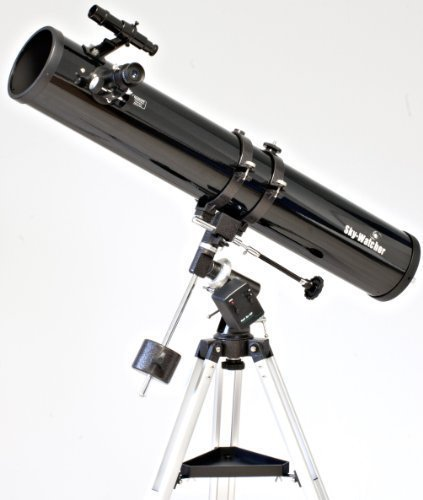 Télescope Newton Sky-Watcher 114/900 sur EQ1 motorisée en AD
