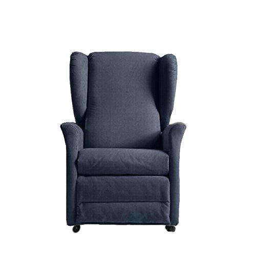 Poltrona letto Movian Scutari Marchio 77 x 90 x 81 cm blu scuro