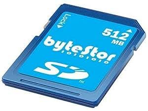 ByteStor 512MB SD High Speed 66X ( Secure Digital) Card
