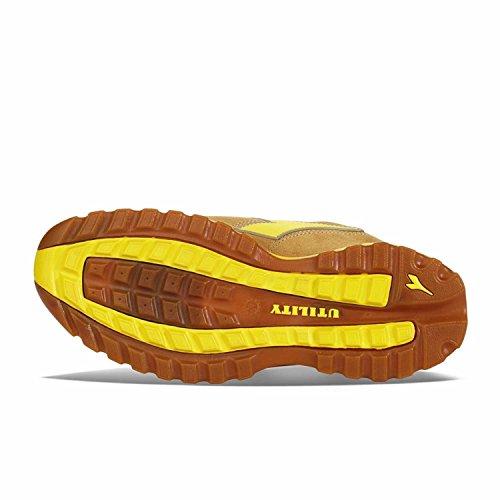 Diadora Glove Ii Low S1p Hro, Chaussures de Travail Mixte Adulte Jaune (Cammello)