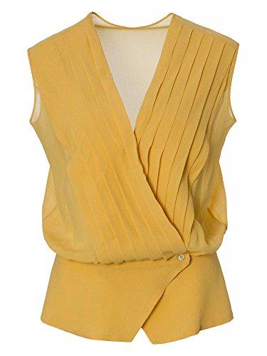 trussardi-women-blouse-top-100-silk-yellow-8