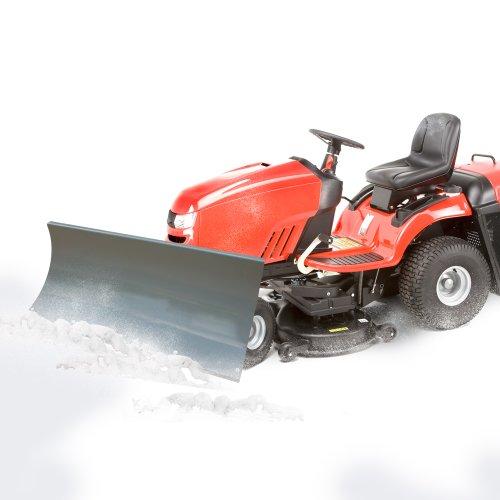 Schneeschild Schneepflug Schneeschieber für Quad ATV Rasentraktor 100x40cm