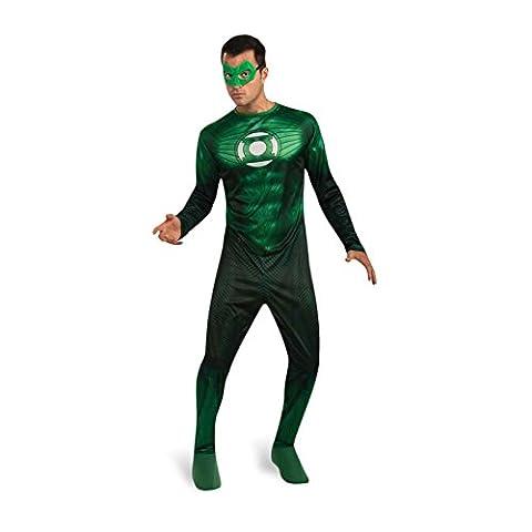 Green Lantern - Déguisement Hal Jordan Avec Bague - Adulte - XL