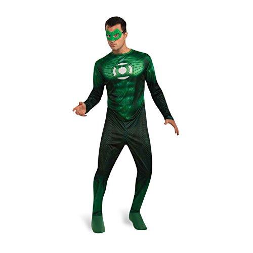 Green Lantern - Déguisement Hal Jordan Avec Bague - Adulte - XL (Hal Jordan Kostüme)