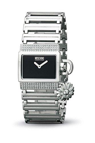 Moschino - MW0074 - Montre Femme - Quartz - Analogique - Bracelet Acier Inoxydable Argent