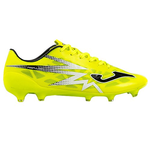 Joma Propulsion Lite, Chaussures de Football Mixte Adulte Jaune (Fluor-black)